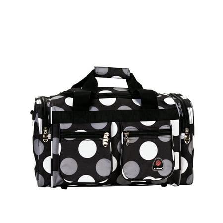 Rockland 19u0022 Duffel Bag - New Black Dot