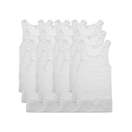 Swan Men's Ribbed White A-Shirts (12-Pack)](Black Swan White Swan Halloween)