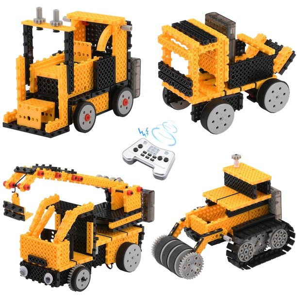 Remote Control Building Kits for Boy Gifts, TOYARD STEM ...