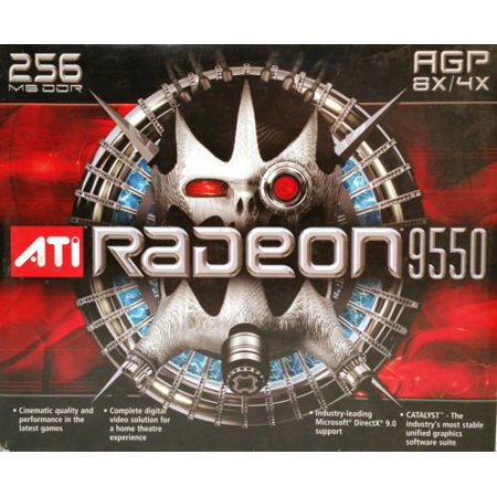 ATI 100437105 ATI Radeon 9550 256MB DDR SDRAM AGP 4x/8x (100-437105) 0727419411875