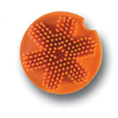 Hamilton Halter Company-Grooma Softtouch Massage Brush For Horse & Pet- Orange ()