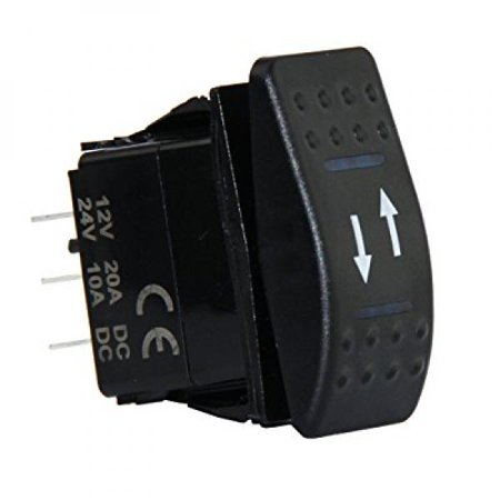 4 Pin Marine Grade ON-OFF-ON/OPEN-CLOSE/IN-OUT Momentary
