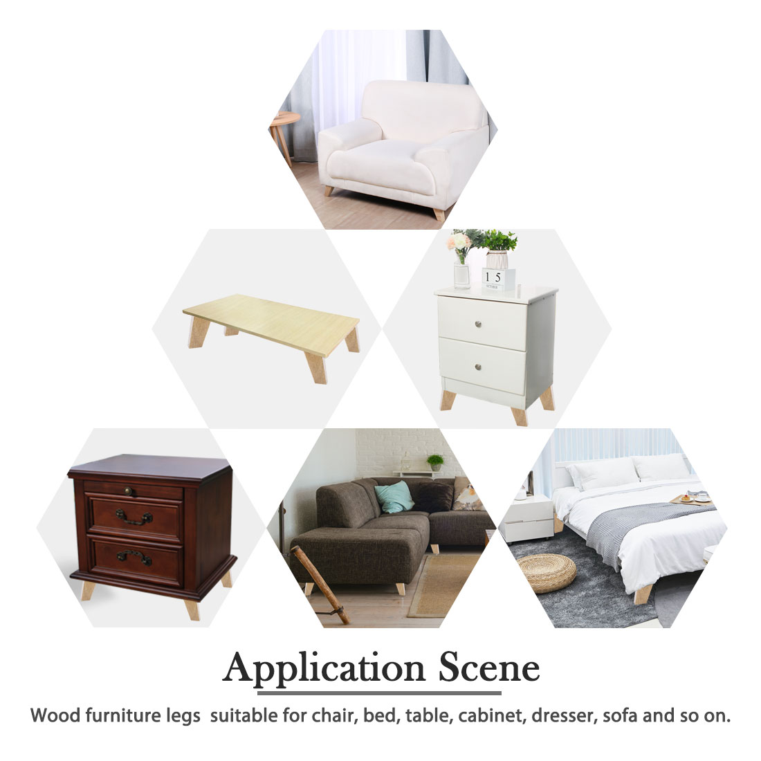 BEDS WARDROBES 4x WOODEN REPLACEMENT FEET FURNITURE LEGS FOR DRAWERS CABINETS