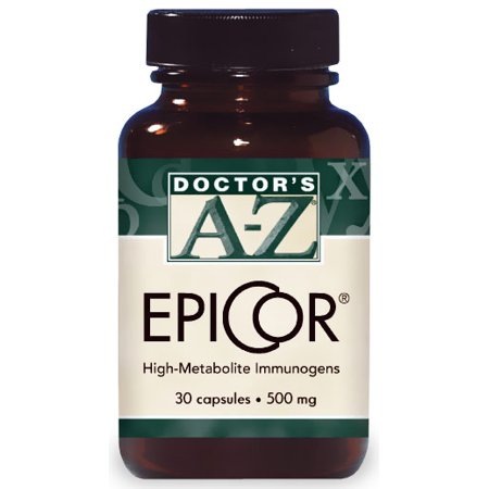 Epicor 500 Mg 30 Capsules  Immune System Booster Supplement By Doctors Az