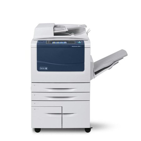 Refurbished Xerox WorkCentre 5855 Black and White Laser Multifunction Copier - 55ppm, Copy, Print, Scan, Auto Duplex, Network, A3, A4, 2 Trays, High Capacity Tandem Tray