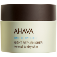 Ahava Time To Hydrate Night Replenisher Normal To Dry Skin 1.7 Oz / 50 Ml