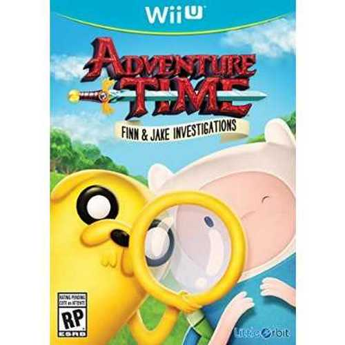Refurbished Adventure Time Finn and Jake Investigations - Wii U