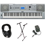 Yamaha DGX-230 76-Key Electronic Keyboard with Nearly 500 Voices and Recording Feature
