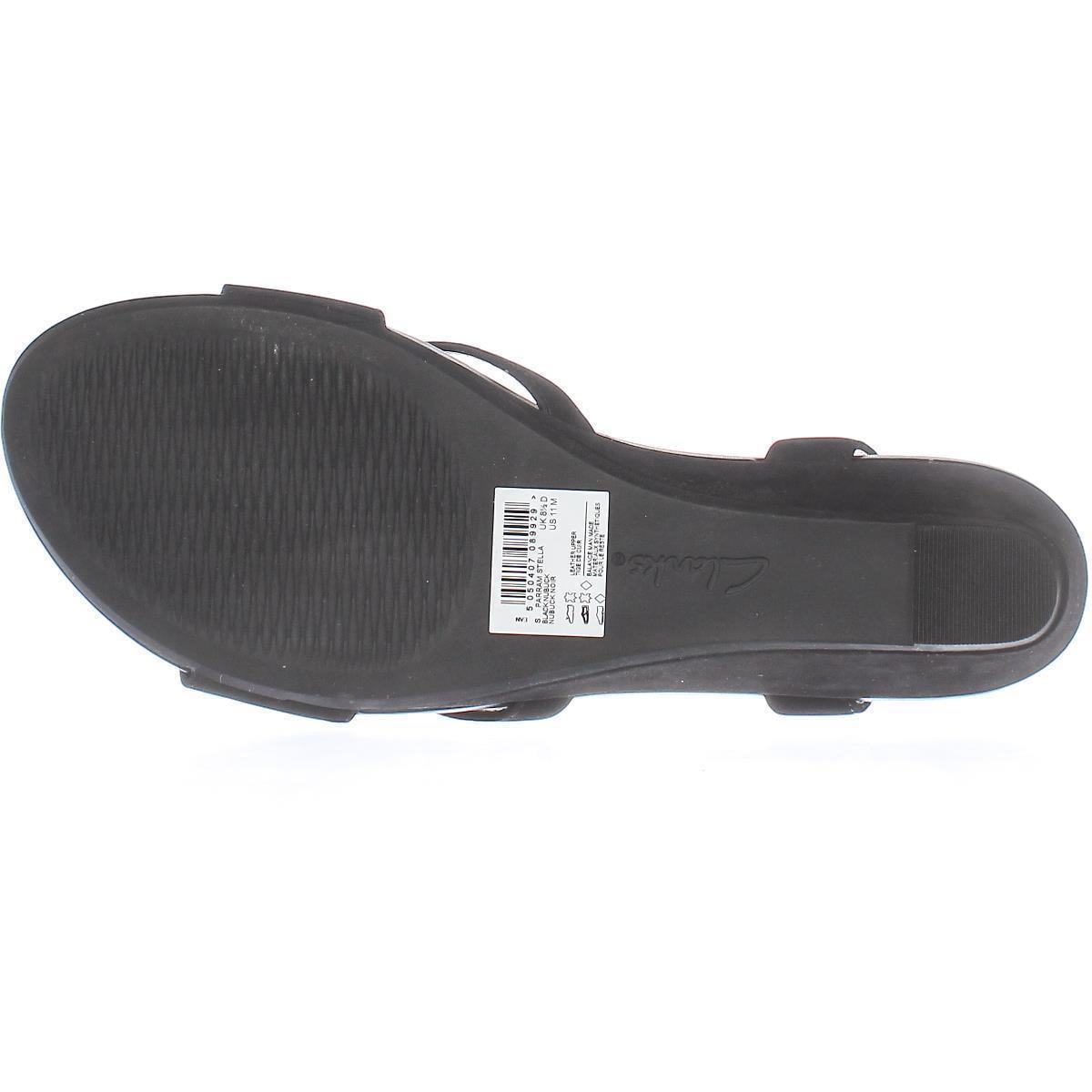 ddd799af563 Clarks - Womens Clarks Parram Stella Low-Wedge Comfort Sandals ...