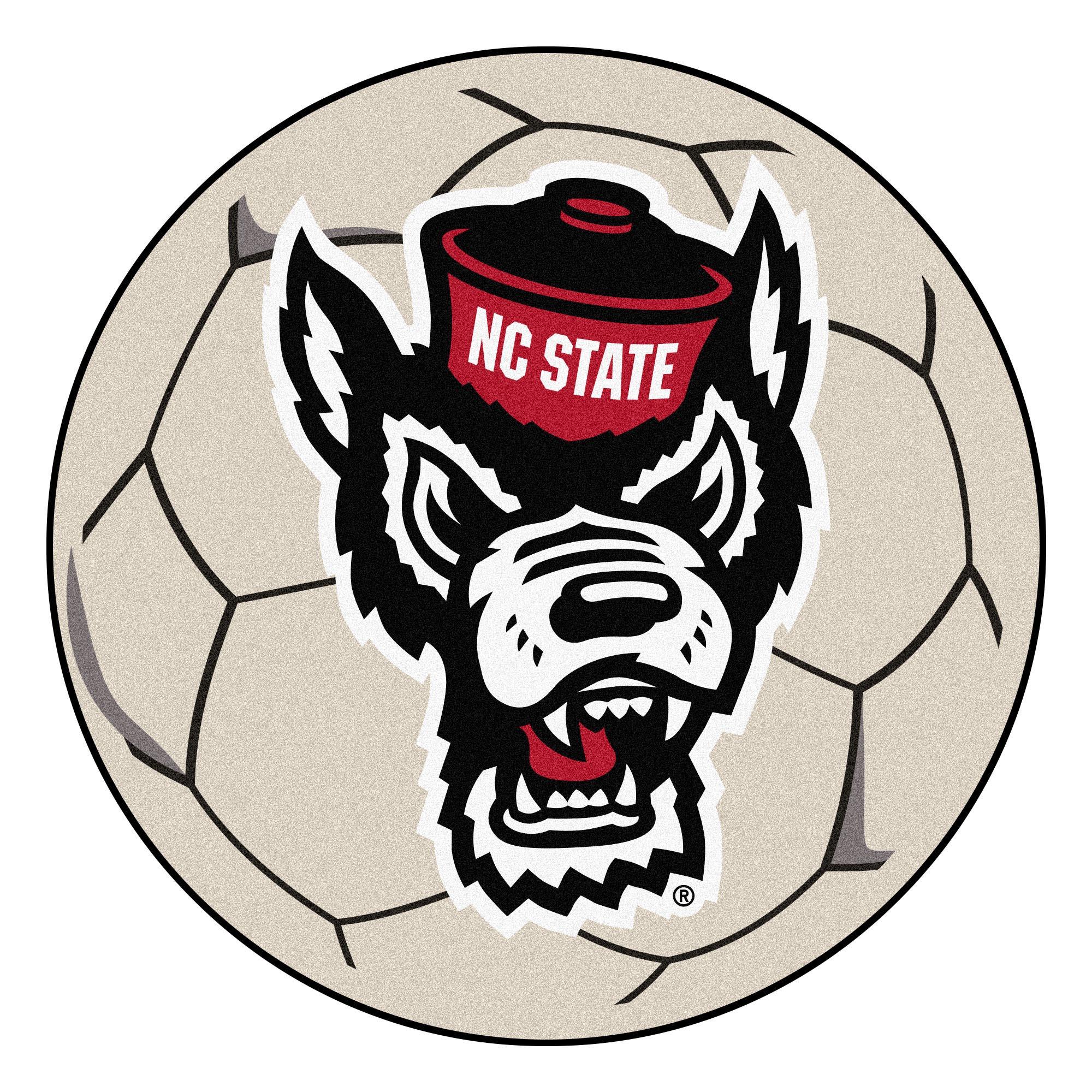 "NC State Soccer Ball 27"" diameter"
