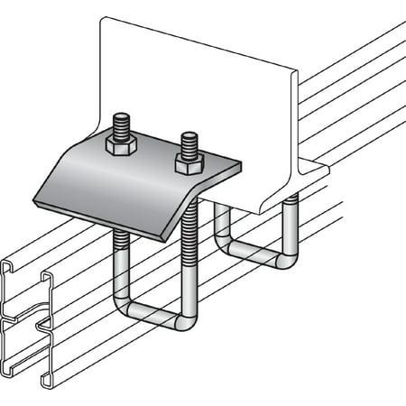 Hilti 314330 Strut beam clamp SBC 2-7/16 to 3-1/4 / 25 pc