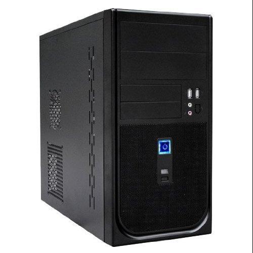Black Ark Technology Micro ATX Tower Computer Case , w/ 400W PSU, 80m