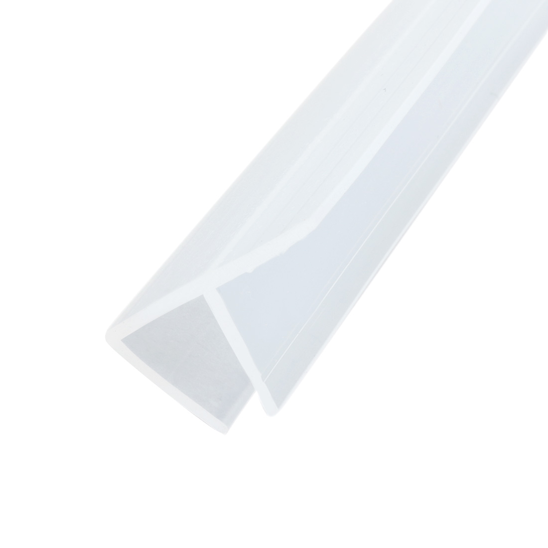 78 7 Inch F Shaped Frameless Window Shower Door Seal Clear For 10mm Glass