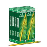 Ticonderoga Yellow Soft Number 2 Pencil 96 Count