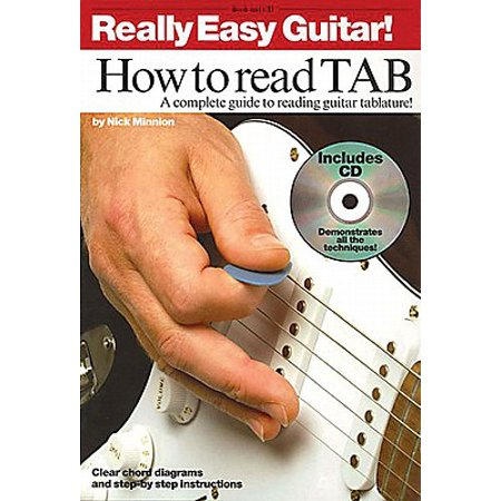 How to Read TAB : A Complete Guide to Reading Guitar Tablature - Halloween Guitar Tab