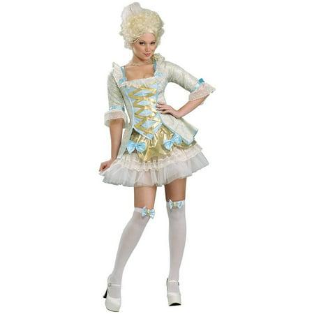 Marie Antoinette Halloween Costume (Women's  Adult Lady of Versailles Victorian Marie Antoinette)