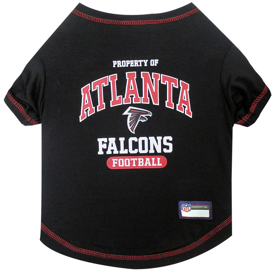 Pets First NFL Atlanta Falcons Pet T-shirt, Assorted Sizes