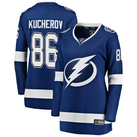 Nikita Kucherov Tampa Bay Lightning Fanatics Branded Women's Breakaway Player Jersey -