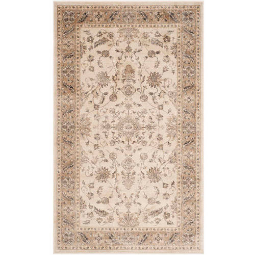 Safavieh Vintage Ifrit Power Loomed Area Rug, Stone/Mouse