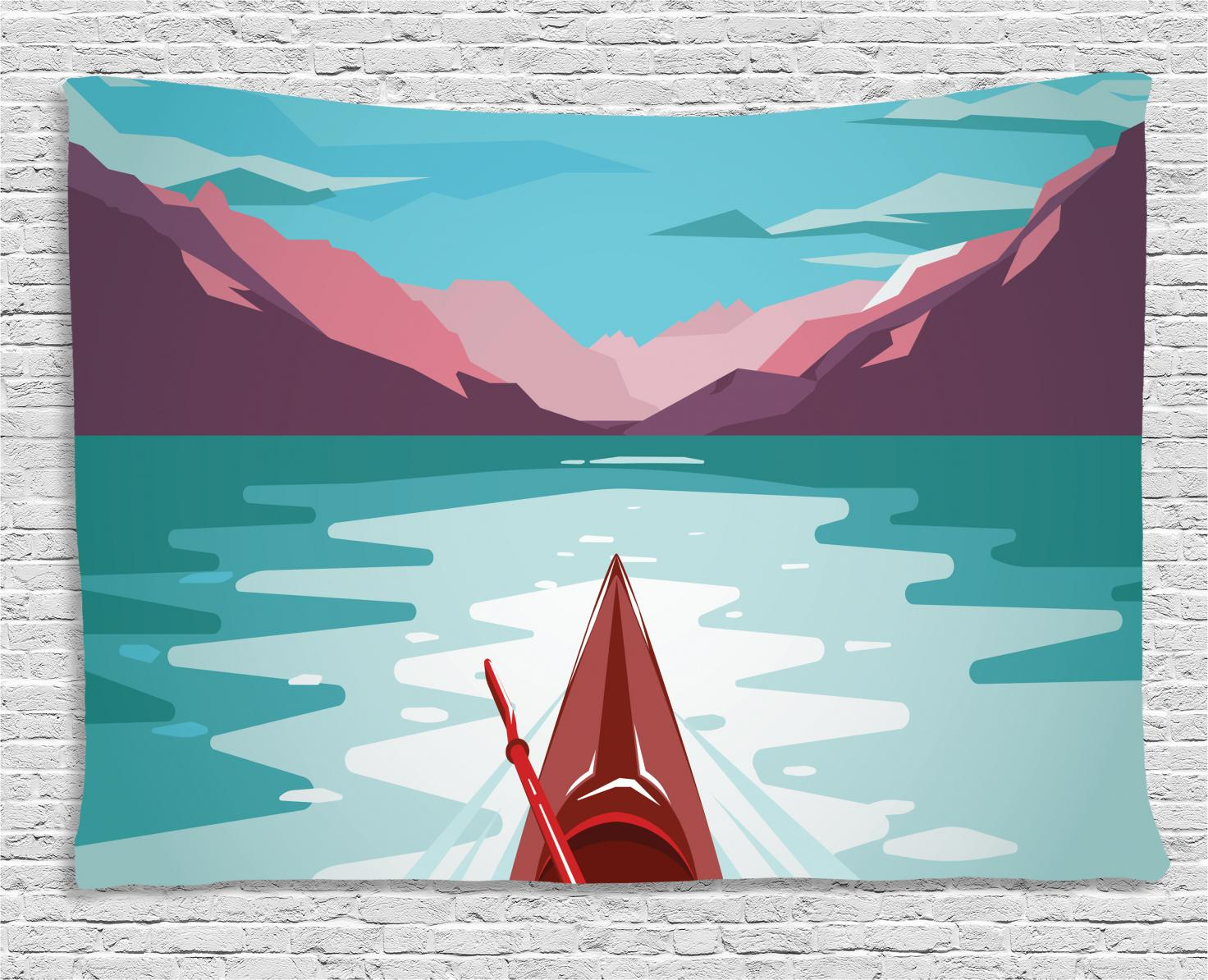 Ocean Tapestry Extreme Water Sports Print Wall Hanging Decor