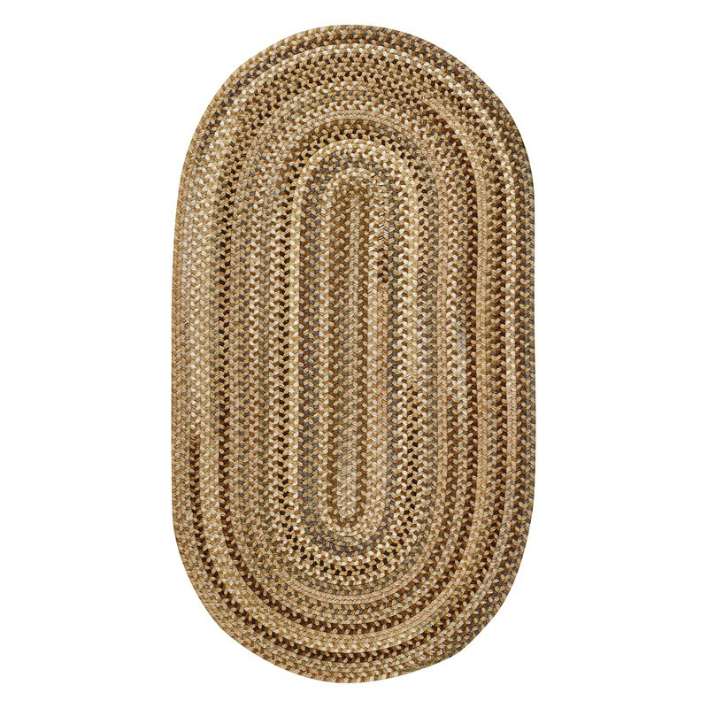 Capel Rugs Manchester Braided Rug - Beige Hues