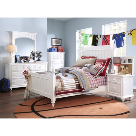 Youth Twin Bedroom Set Bed Mirror