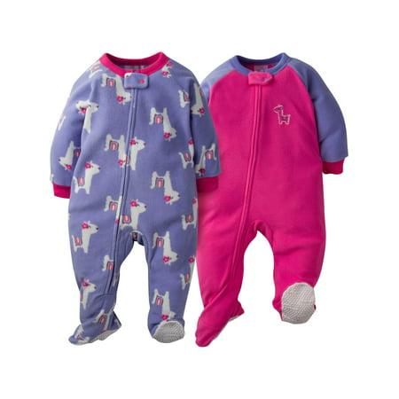 496600aab6 Gerber - Gerber Microfleece Blanket Sleeper