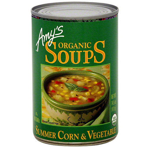 Amy's Organic Summer Corn & Vegetable Soup, 14.5 oz (Pack of 12)