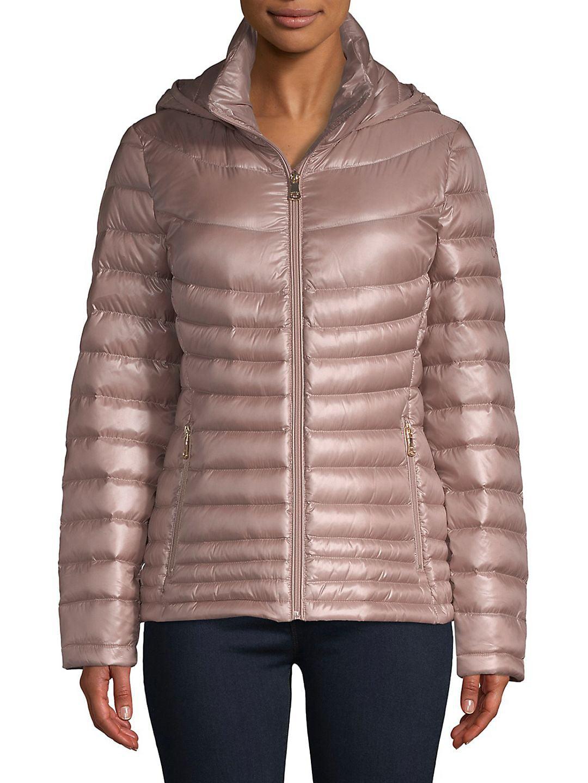 Pe E Short Packable Puffer Coat