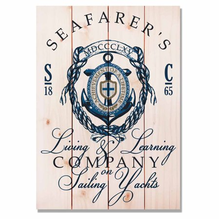Daydream Seafarers Living Learning Indoor Outdoor Wall Art