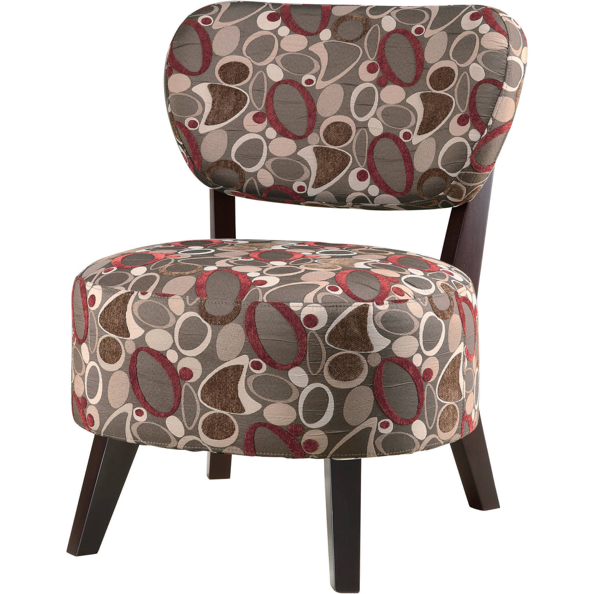 Coaster Company Accent Chair, Red Brown, Dark Brown by Coaster Company