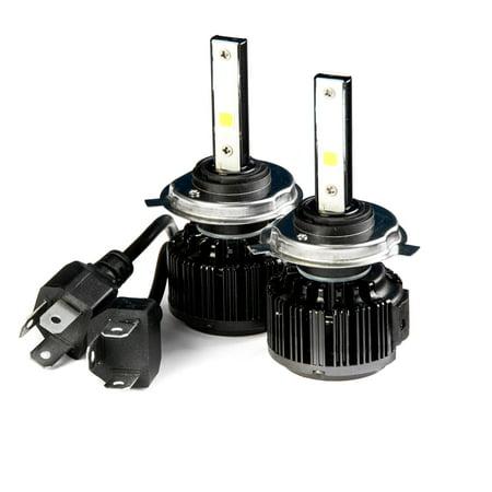 UPC 698056788623 product image for Krator LED H4 Headlight Conversion Bulbs 40W 4000LM Light Bulbs 9003/HB2 6000K W   upcitemdb.com