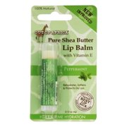 Out Of Africa - Pure Shea Butter Lip Balm Peppermint - 0.15 oz.