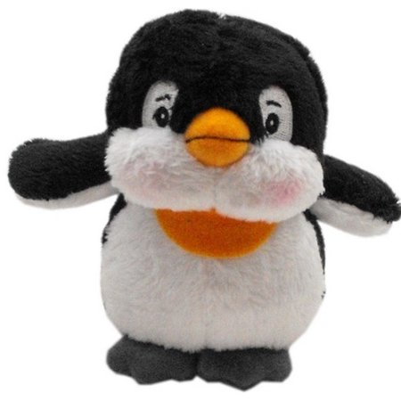 Mirage 40-03 PGN Plush Christmas Dog Toy With Squeaker Penguin