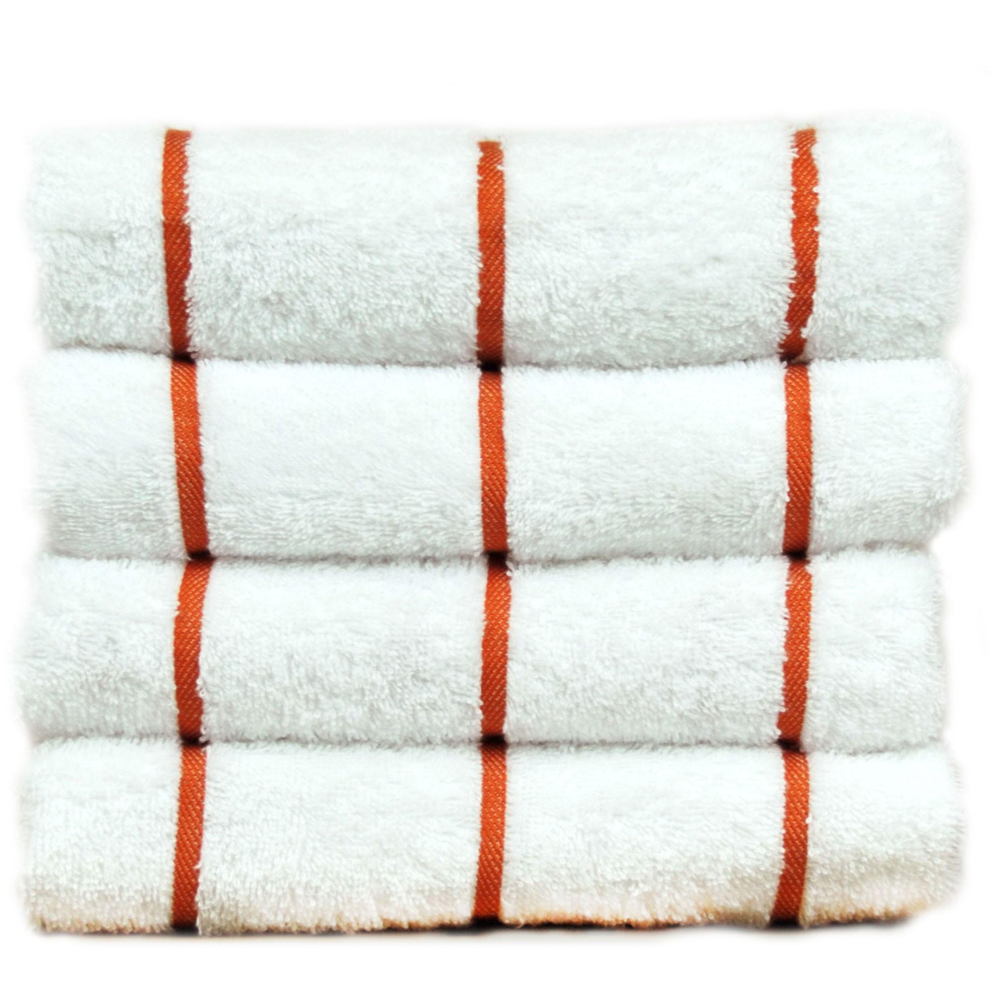 Chakir Linen Striped Turkish Cotton Towel Set (Set of 2)
