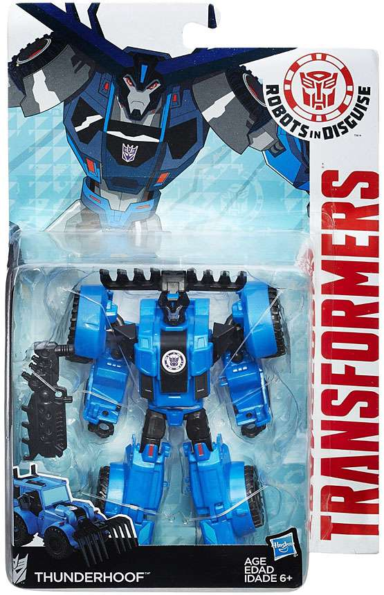 Transformers: Robots in Disguise Warrior Class Thunderhoof (Weaponizers Version) by Hasbro