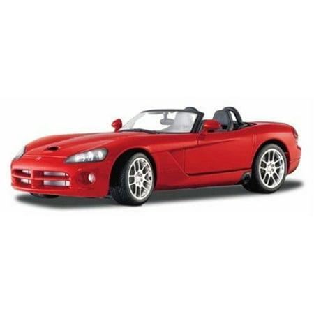 Maisto Die Cast 1:18 Scale Red 2003 Dodge Viper SRT-10