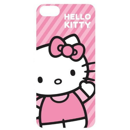 Hello Kitty Hk54609 Iphone 5 Case Pink Stripe Waving (Hello Kitty Neo Phone)