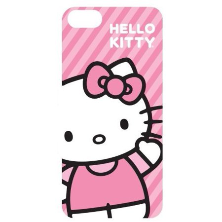 Hello Kitty Hk54609 Iphone 5 Case Pink Stripe Waving ()