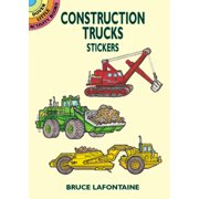 Dover Publications-Construction Trucks Stickers
