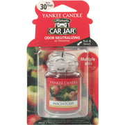 Yankee Candle Ultimate Car Jar Macintosh Air Freshener