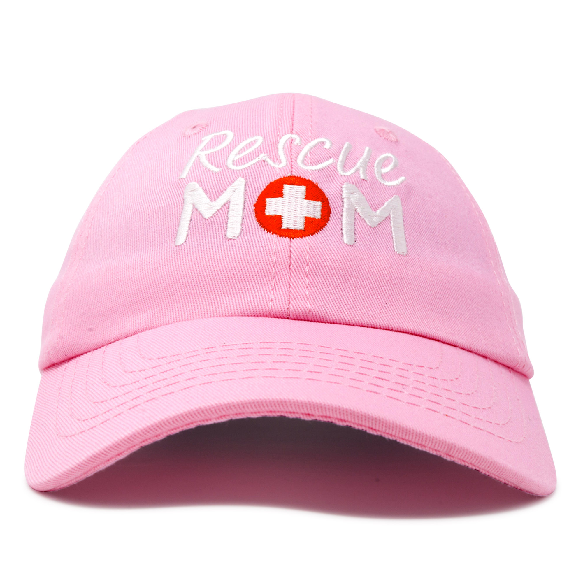 d97067477ae18 DALIX - DALIX Rescue Mom Womens Baseball Cap Dad Hat in Light Blue -  Walmart.com