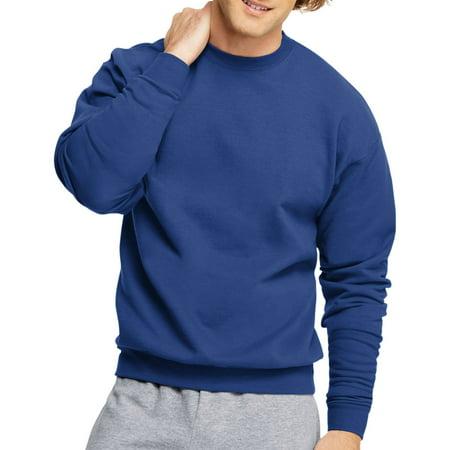 Hanes Men's Ecosmart Medium Weight Fleece Crew Neck Sweatshirt (Skeeter Sweatshirt)