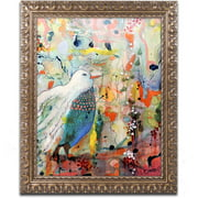 "Trademark Fine Art ""Vers Toi"" Canvas Art by Sylvie Demers, Gold Ornate Frame"