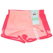 Skechers Girls Size 7-8 Active Mesh Shorts in Pink Bloom