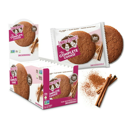 Lenny & Larrys, The Complete Cookie, SNICKERDOODLE, 16g Protein, 12ct