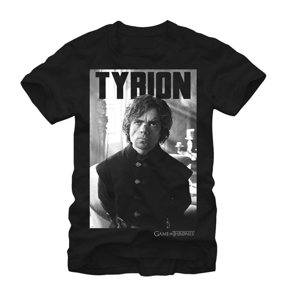 Game of Thrones Stern Tyrion Men's Black T-Shirt