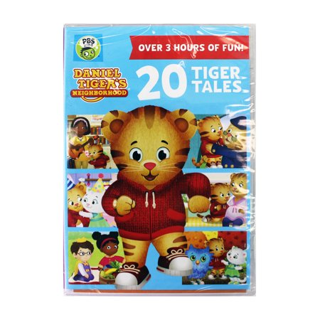 PBS KIDS Daniel Tiger\'s Neighborhood | 20 Tiger Tails DVD