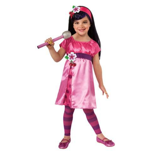 Strawberry Shortcake Deluxe Cherry Jam Costume Child Toddler 2-4T