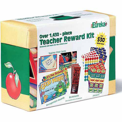 Eureka Teacher Reward Kits, School Theme